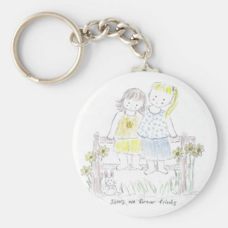 Forever_sisters Keychain
