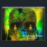 "Forever Skulls Goth Fantasy 2013 Calendar<br><div class=""desc"">Forever Skulls Goth Fantasy 2013 Calendar</div>"