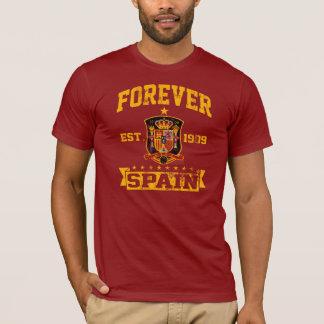 Forever Spain Soccer Team Fan T-Shirt