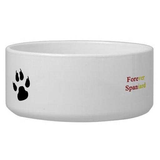 Forever Spaniard Pet Water Bowl