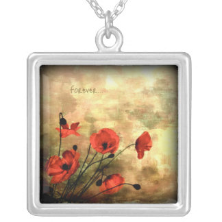 Forever Square Pendant Necklace