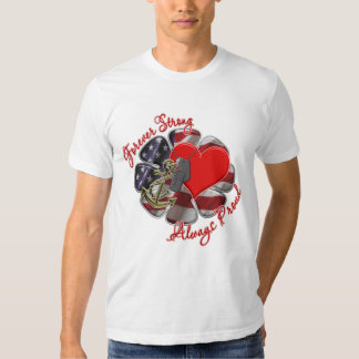 forever strong navy T-Shirt