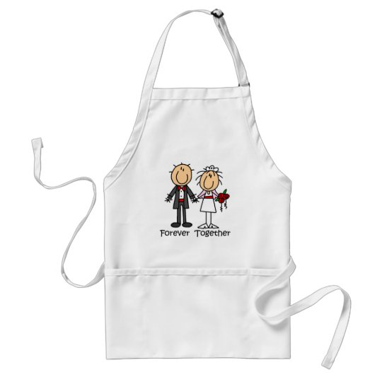 Forever Together T-shirts and Gifts Adult Apron