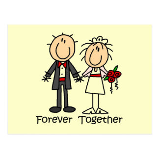 Forever Together T-shirts and Gifts Postcard