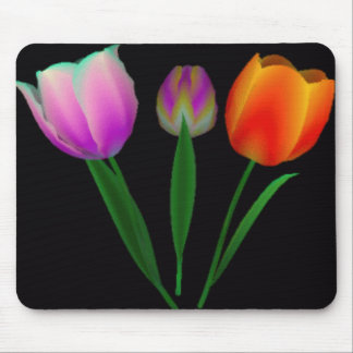 Forever Tulips Mouse Pad