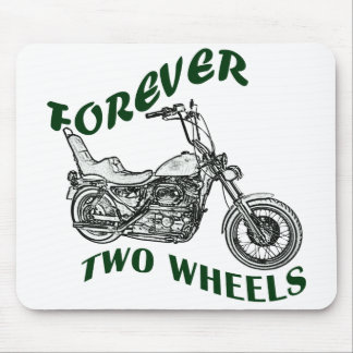 Forever Two Wheels - Biker Mouse Pad