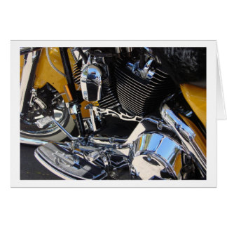 Forever Two Wheels Motorcycle Series 02 Stationery Note Card