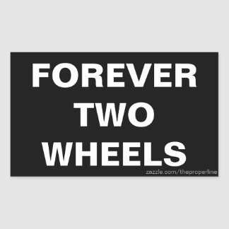 Forever Two Wheels Stickers