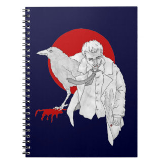 Forever Under A Bad Moon Spiral Notebook