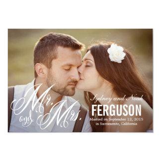 Forever Us Wedding Announcement - White Custom Invites