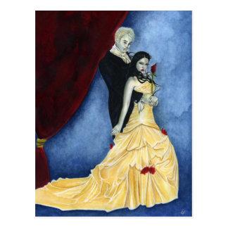 Forever vampire couple Postcard