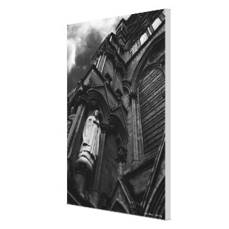 Forever Watching Cleric, Salisbury Cathedral Canvas Print