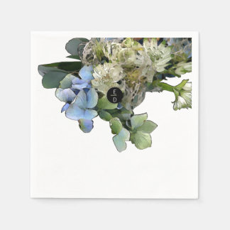 """""""Forever"""" Wedding Collection Paper Napkin"""