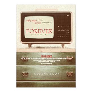 FOREVER - Wedding Invitation