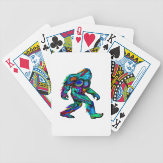 Forever Yeti Bicycle Playing Cards