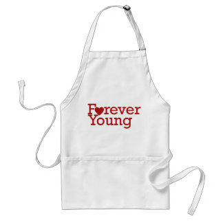 Forever Young Adult Apron