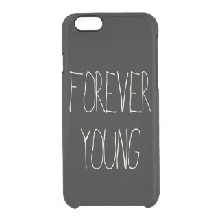 Forever young clear iPhone 6/6S case