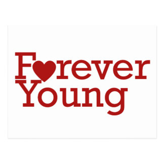 Forever Young Postcard