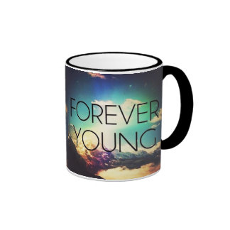 FOREVER YOUNG RINGER COFFEE MUG
