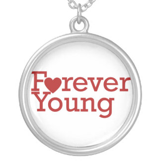 Forever Young Round Pendant Necklace