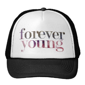 Forever Young Snapback Mesh Hats