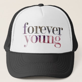 Forever Young Snapback Trucker Hat