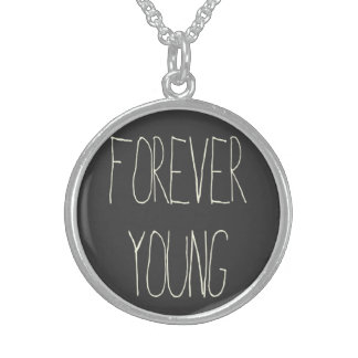 Forever young sterling silver necklace