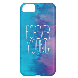 Forever Young Turquoise Ombre iPhone 5C Case