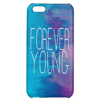 Forever Young Turquoise Ombre iPhone 5C Cases