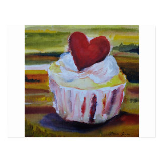'Forever Yours' -  Cupcake products now available Postcard