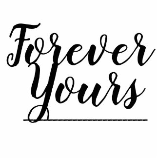 forever yours married gift statuette