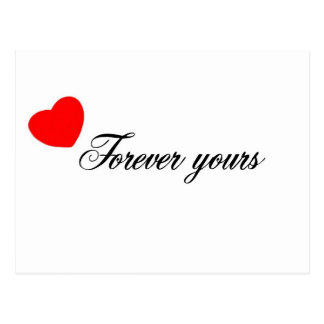 Forever Yours Postcard