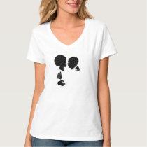 afro, african, love, romance, urban, ethnic, Shirt with custom graphic design