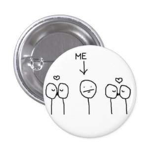 #ForeverAlone Pin