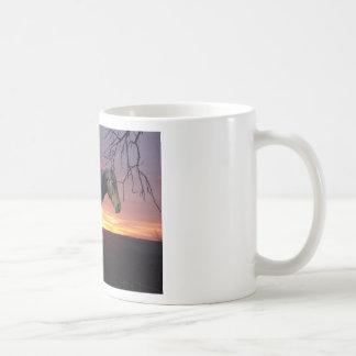 ForeverMorgans Black Horse in Purple Sunrise Mug