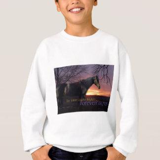 ForeverMorgans Bright Future Morgan Horse Sweatshirt