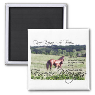 ForeverMorgans Fairytale Morgan Mare and Foal Magnet