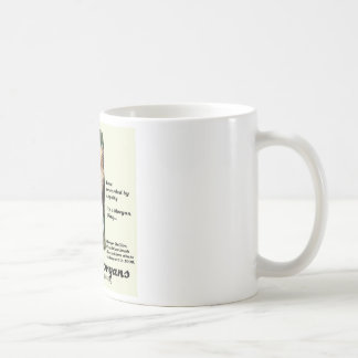 ForeverMorgans Morgan Stallion Classic White Coffee Mug