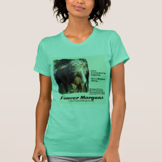 ForeverMorgans Morgan Stallion T-Shirt