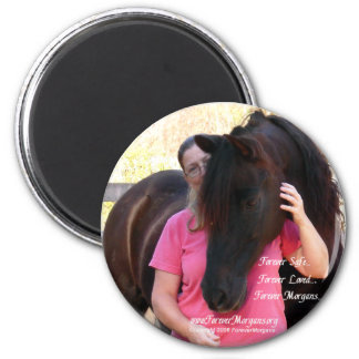 ForeverMorgans Rescue Horse Jack Magnet