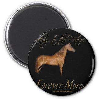 ForeverMorgans Rescue Horse Kramer 2 Inch Round Magnet