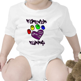 Forevery Furry Baby Bodysuit