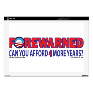 "Forewarned - Can You afford 4 More Years Skins For 17"" Laptops"