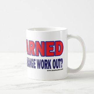 Forewarned - coffee mug