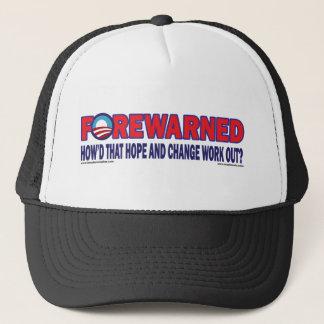 Forewarned - trucker hat