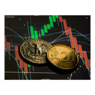 Forex cents, by Sinisa Botas Poster
