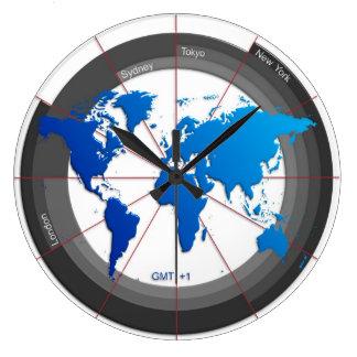 Forex Markets Timezone Clock GMT+1 hr