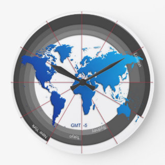 Forex Markets Timezone Clock GMT-5