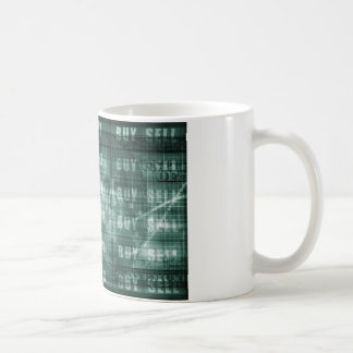 Forex Trading Online and with US Dollar Graph Coffee Mug