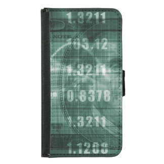 Forex Trading Online and with US Dollar Graph Samsung Galaxy S5 Wallet Case